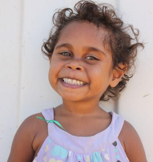 Girl in Arnhem Land, Northern Territory