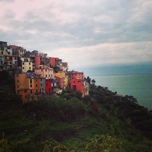 Cinque Terra, Italy. Instagram filter.