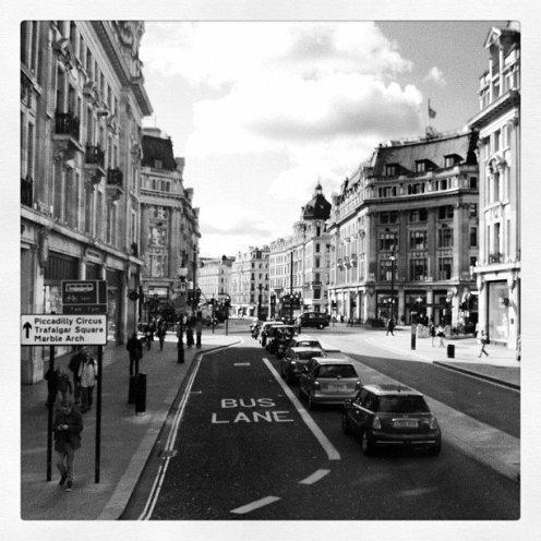 London, England. Instagram filter.