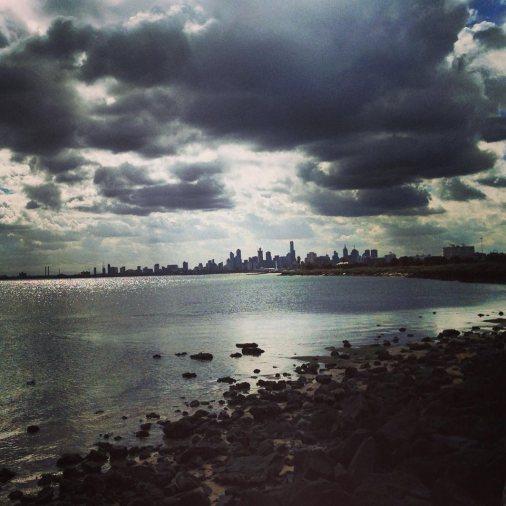 Melbourne. Instagram filter.