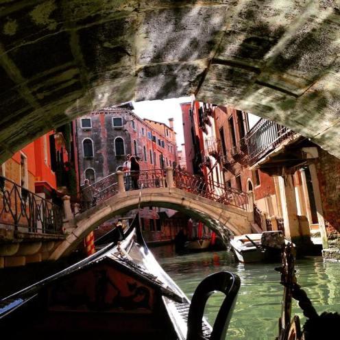 Venice, Italy. Instagram filter.